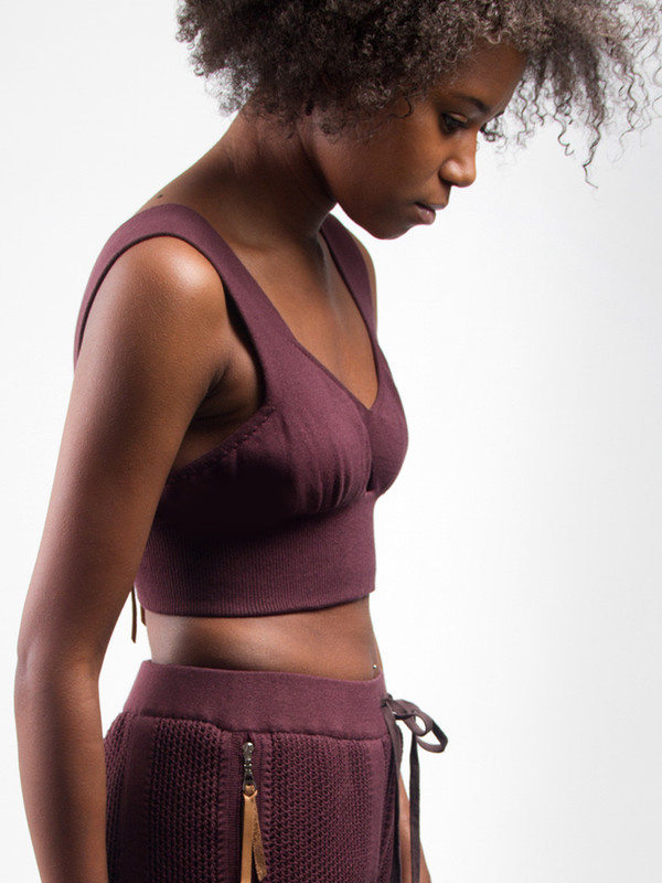 IL by Saori Komatsu Sweater Knit Tank