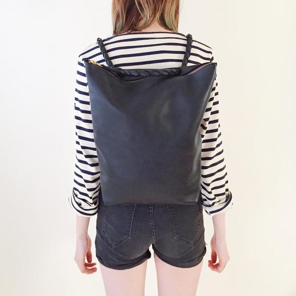 ARA Handbags - Black Backpack No. 1