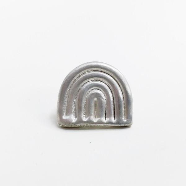 Lane Walkup Silver Rainbow Pin