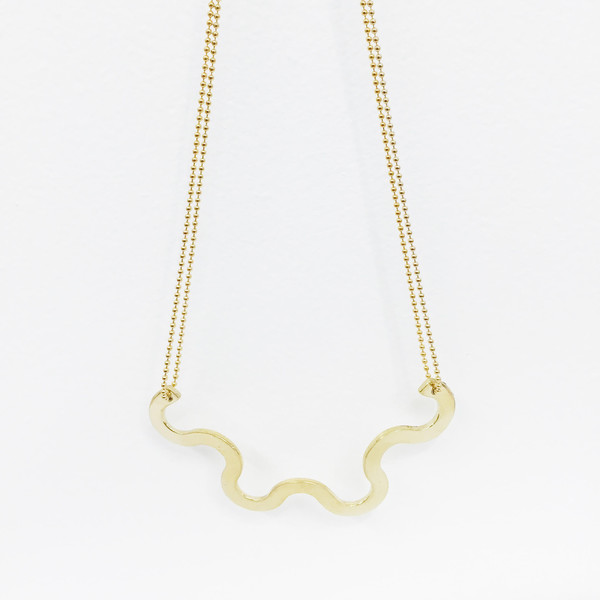 Twenty Two Hours Wave Necklace