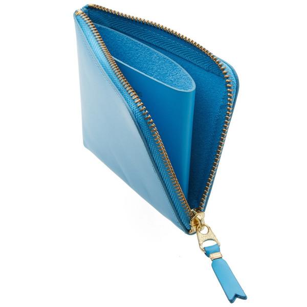 Comme des Garçons Leather Side Zip Wallet