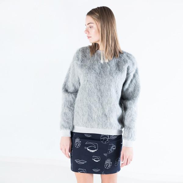 Nanushka Apis Fur Sweater