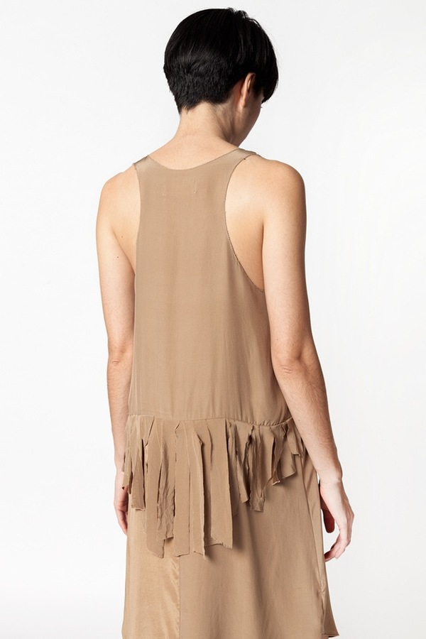 Correll Correll Bias Dress - brown