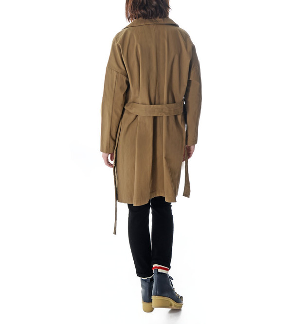 08sircus Cotton Trench Coat