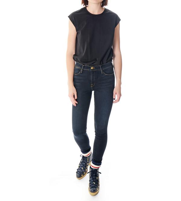 FRAME Denim Le High Skinny in North Hampton Jeans