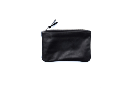 Primecut BLACK LEATHER MEDIUM POUCH