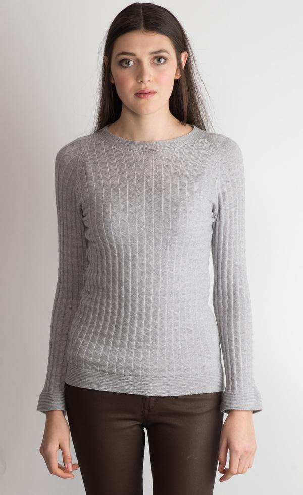 Erdaine triangle structure sweater
