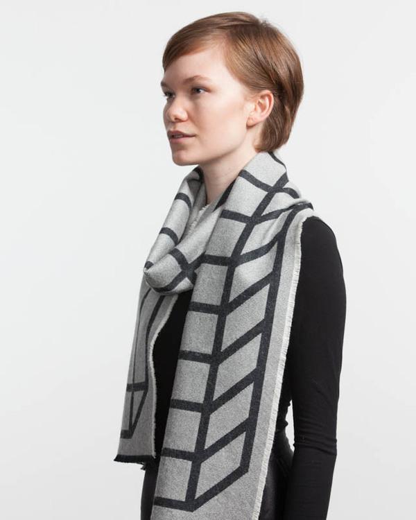 String Theory Half full scarf