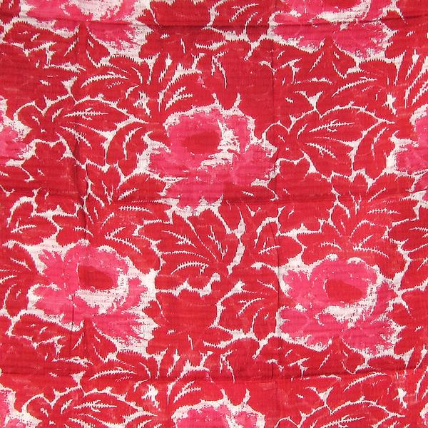 Épice red flower scarf