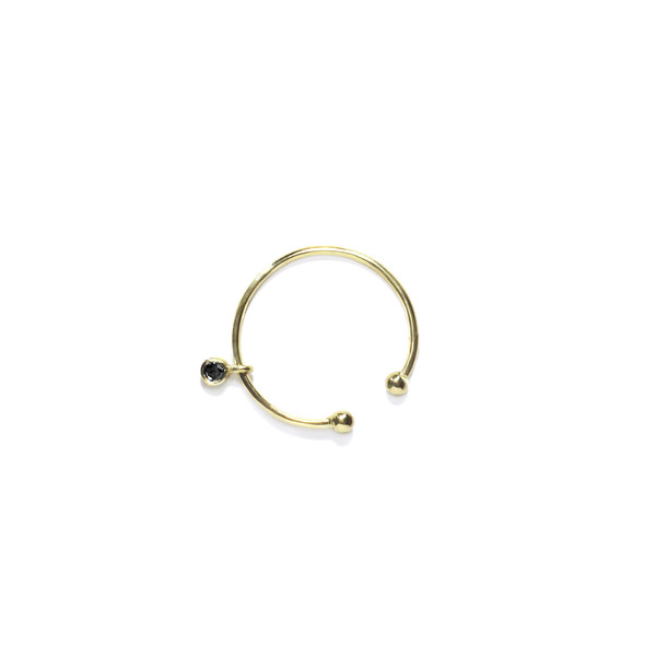 Sara Lasry 18K Yellow Gold Open Toy Ring