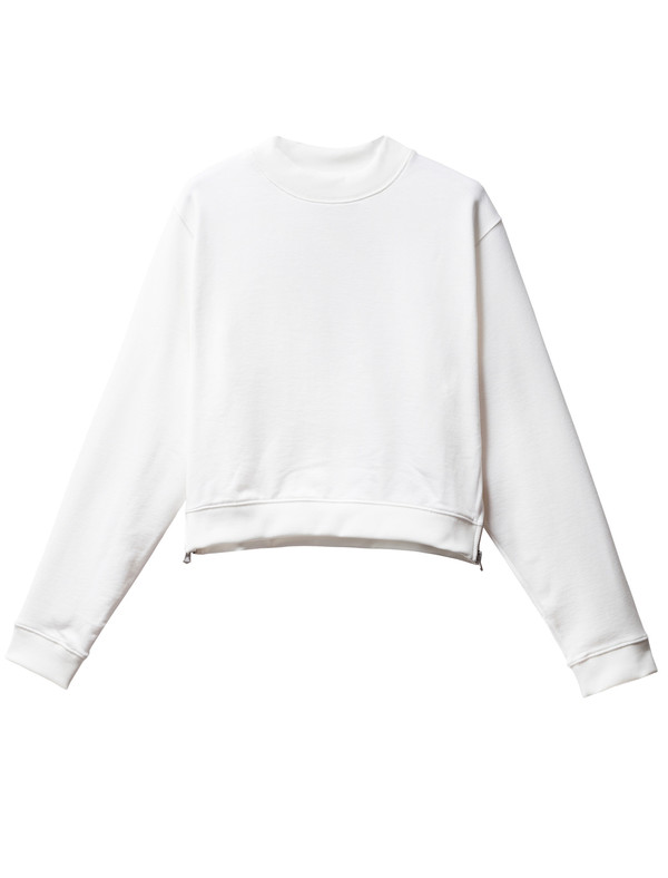 Acne Studios Bird Fleece Pearl White