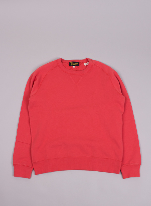 Men's Levi's Vintage Clothing 1950's Crew Sweatshirt Dusty Rose