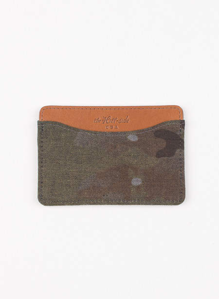 The Hill-Side Card Case Multi Cam Camo