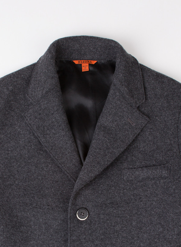 Men's Barena Coat Senser Dark Grey