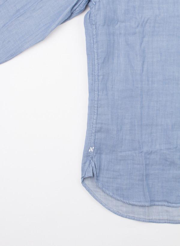 Men's Alex Mill Double Gauze Shirt Light Blue