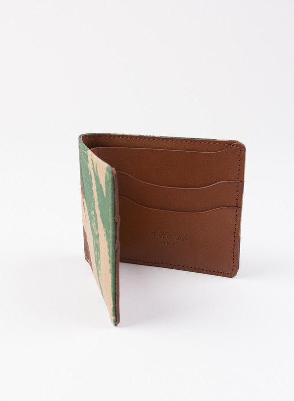 "The Hill-Side French ""Lizard"" Camo Wallet"