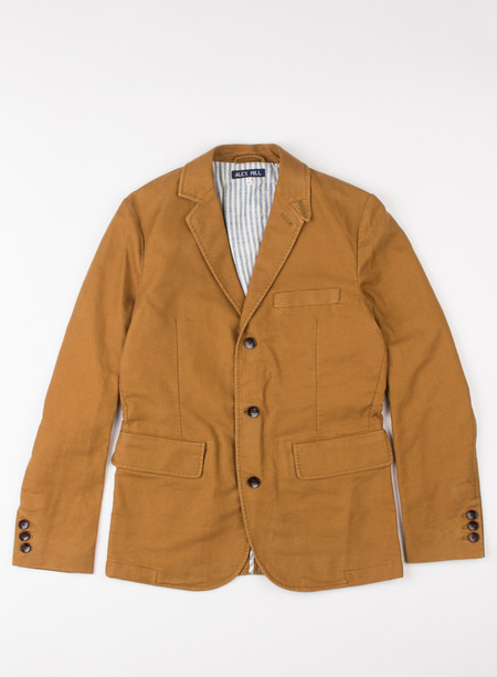 Men's Alex Mill Moleskin Sport Coat Pony