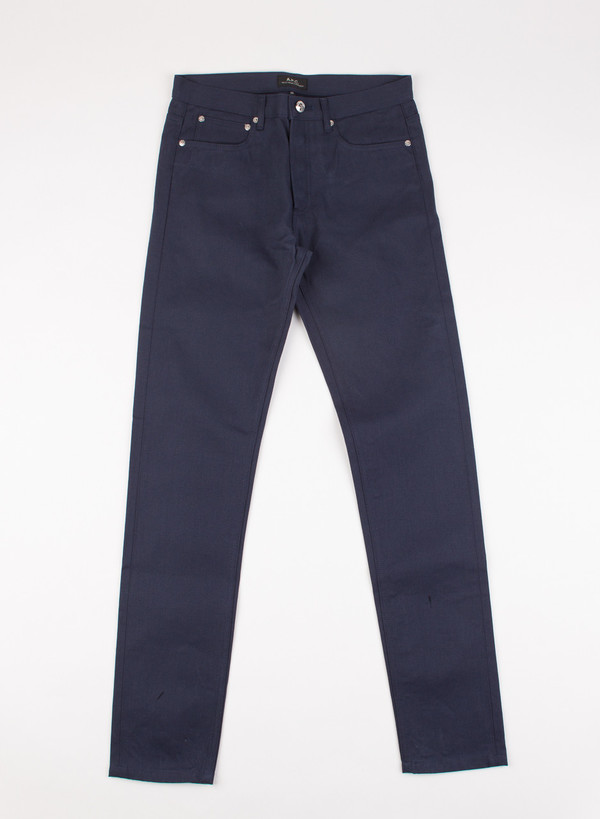 Men's A.P.C. Petit New Standard Chino Navy