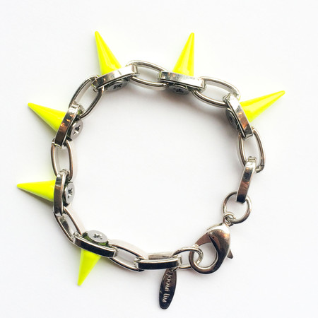 Joomi Lim Single Row Neon Spike Bracelet