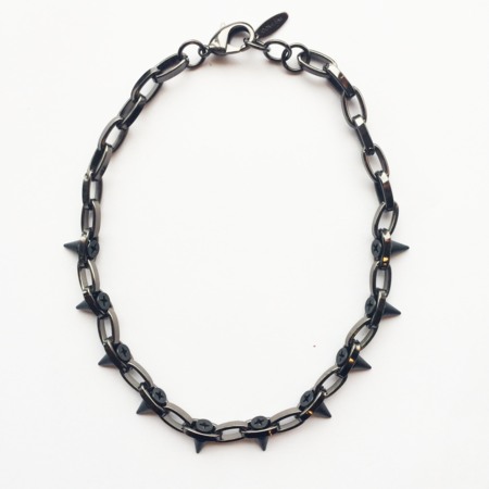 Joomi Lim Single Row Spike Choker