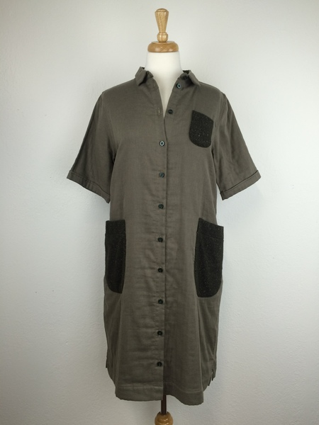 wrk-shp Savoye Shirt Dress