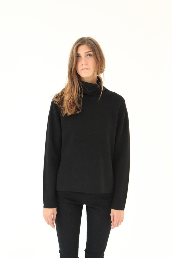 Apiece Apart Uta Side Seam Tech Turtle Neck