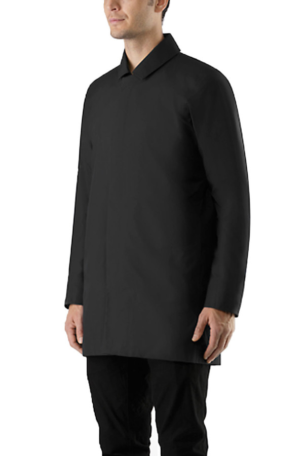 Men's Arcteryx Veilance Partition AR Coat I Black