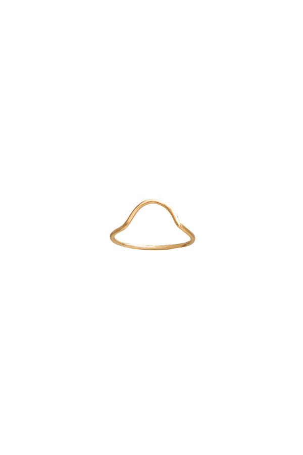 WWAKE Small Arc Ring 10KYG