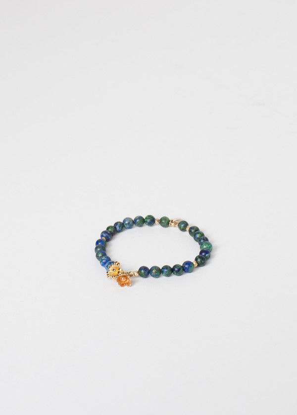 5 Octobre Azur Bracelet in Blue Azurite