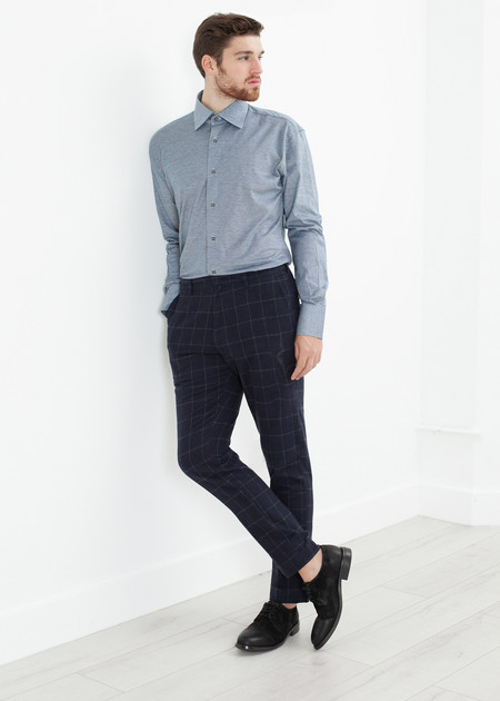 Men's Bellerose Egon Pant in Check