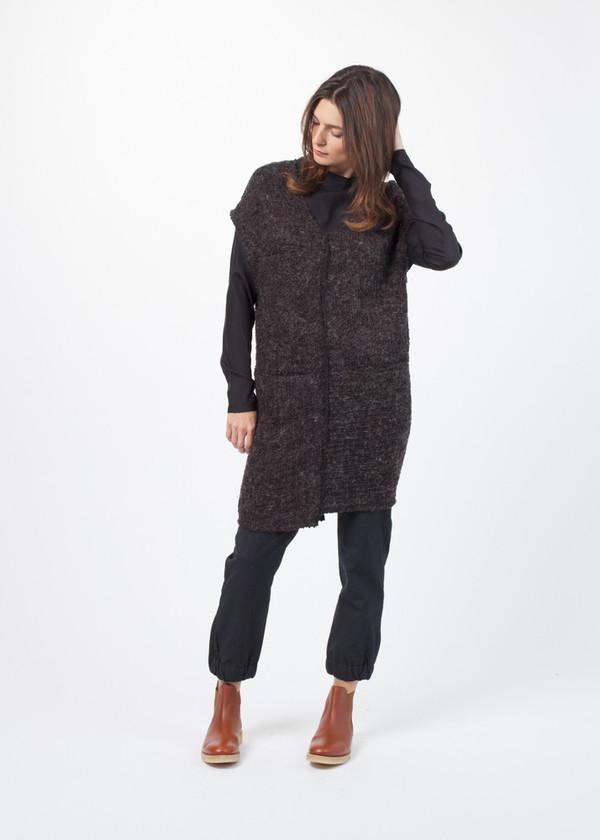 Drifter Invoke Wool-Blend Top