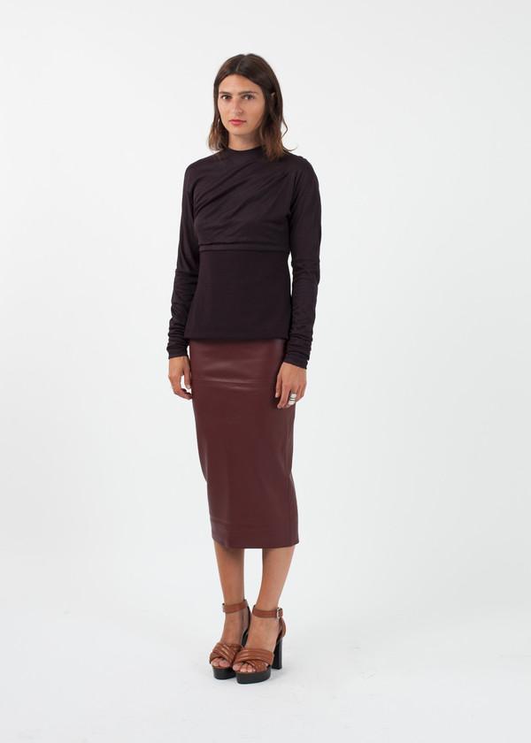 Amelia Toro Knit Jersey Top