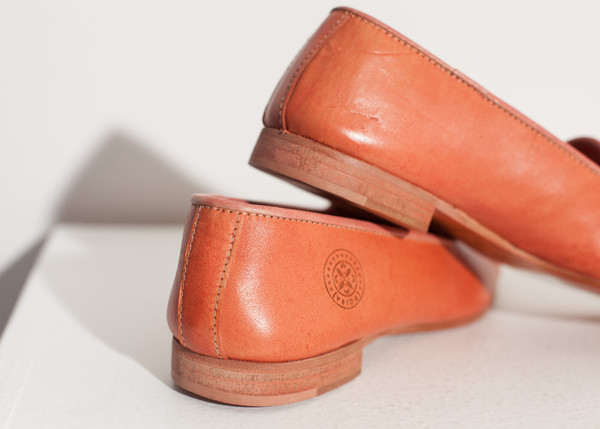 Verba Leather Loafer in Rose