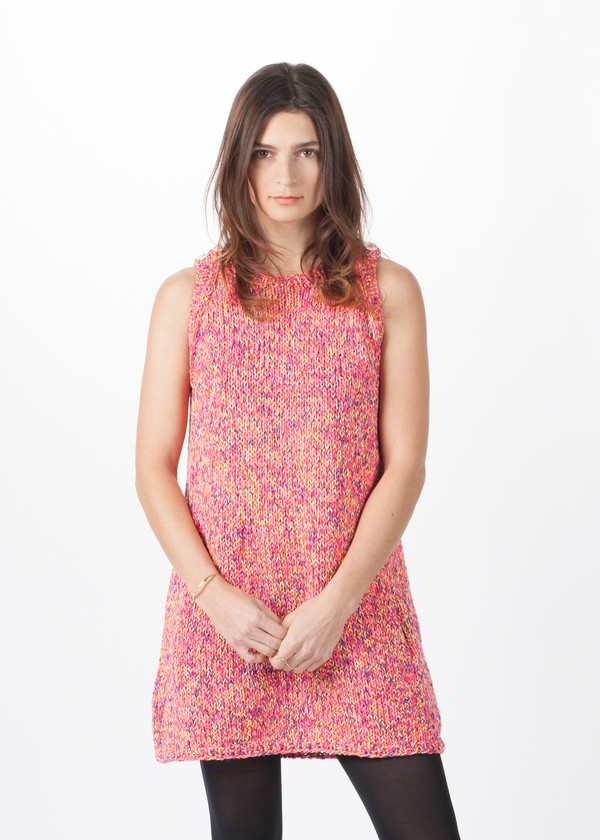 Spencer Vladimir Macaroon Tweed Dress