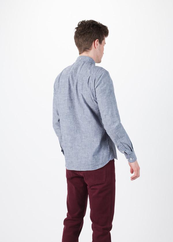 Men's You Must Create Marl Button Down Shirt