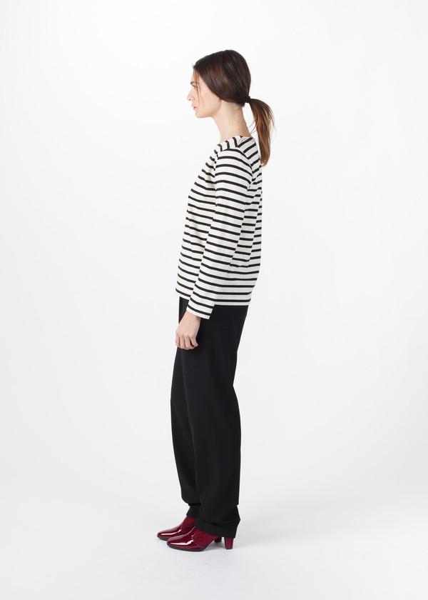 MHL by Margaret Howell Matelot Naval Stripe Jersey Shirt
