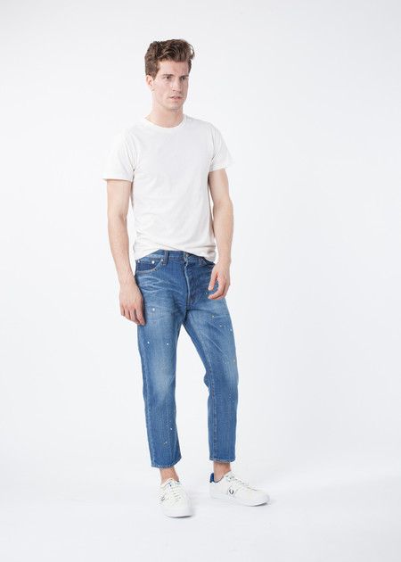 Men's You Must Create Cropped Jean
