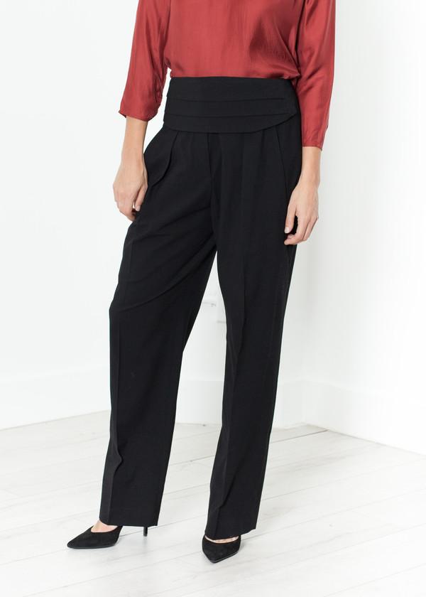 Ter et Bantine Pleated Waistband Trouser