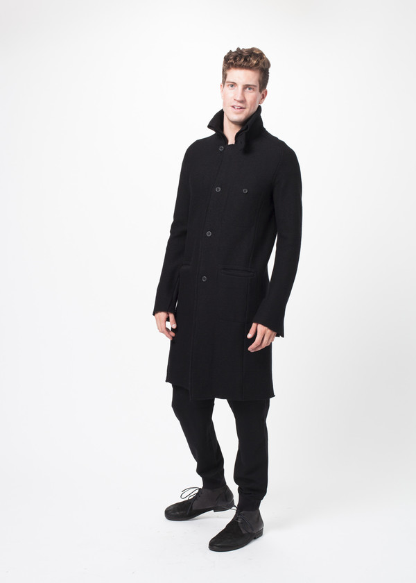 Men's Hannes Roether Rumet Knit Coat