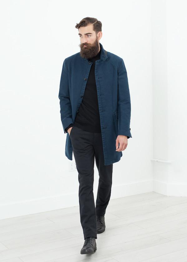Men's Hannes Roether Zig Coat in Evening