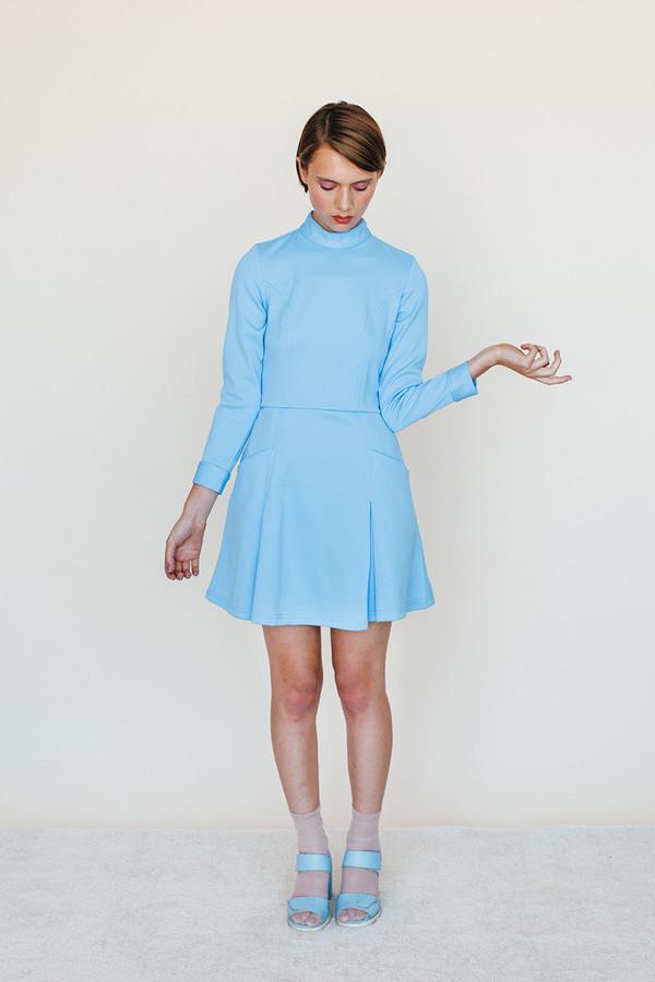 Booster Dress - Sky