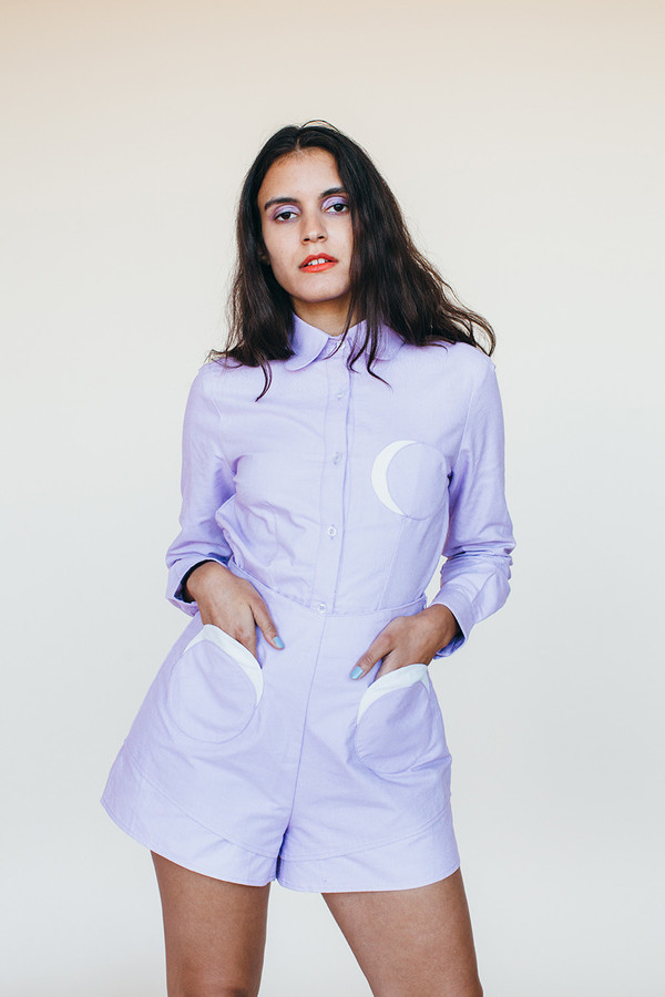 Moon Shorts - Lavender