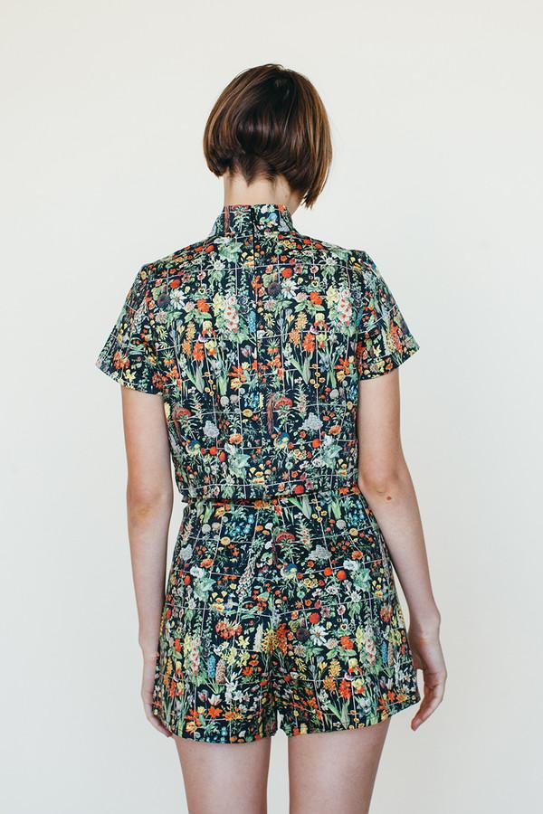 Shooting Star Shorts - Floral Print