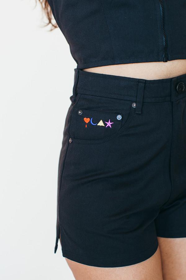 Samantha Pleet Black Hole Shorts