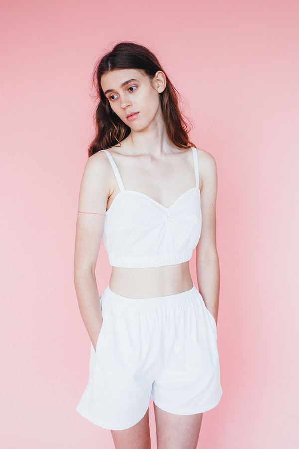 Samantha Pleet Isle Shorts - Ivory