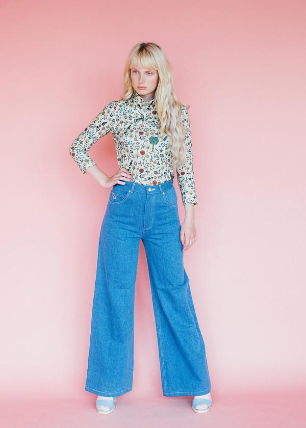 Samantha Pleet Port Jeans - Ultramarine