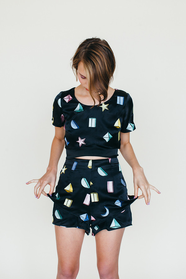 Samantha Pleet Strata Shorts