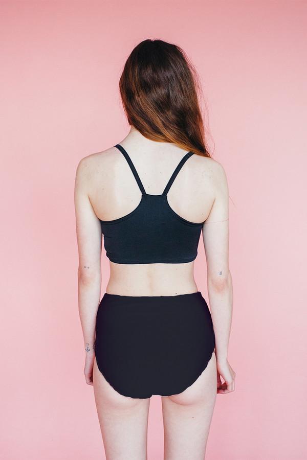 Samantha Pleet Vortex Bikini - Black