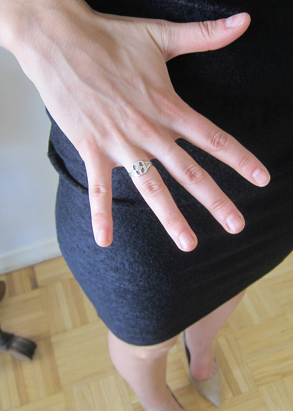 Vintage Collection Thistle Ring
