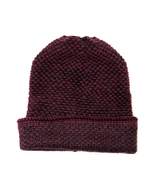 Seed Stitch Hat